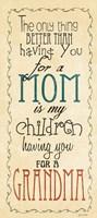 "Mom & Grandma by Jo Moulton - 8"" x 18"""