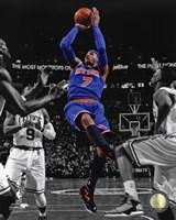 Carmelo Anthony 2012-13 Spotlight Action Fine Art Print