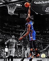 Kevin Durant 2012-13 Spotlight Action Framed Print