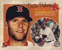 "Dustin Pedroia 2013 Studio Plus - 10"" x 8"", FulcrumGallery.com brand"