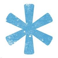 Blue Asterisk by Veruca Salt - various sizes