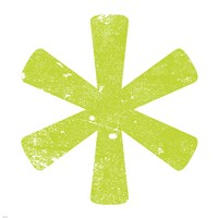 Lime Asterisk