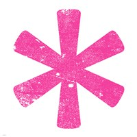 Pink Asterisk