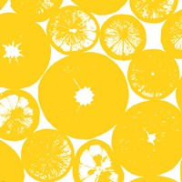 Yellow Lemon Slices Fine Art Print