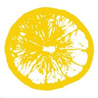 Yellow Orange Slice Fine Art Print