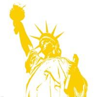 Yellow Liberty Fine Art Print