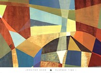 """Elapsed Time I by Jennifer Shaw - 36"""" x 26"""""""
