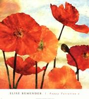 Poppy Variation 2 Fine Art Print