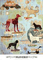 Dog Show Part I Fine Art Print