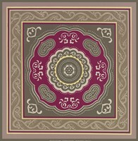 "Sojourn Tile III by Paula Scaletta - 12"" x 12"", FulcrumGallery.com brand"