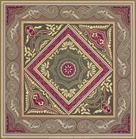 "Sojourn Tile II by Paula Scaletta - 12"" x 12"", FulcrumGallery.com brand"