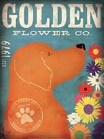 Golden Flower Co. Fine Art Print
