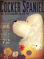 Cocker Spaniel & Co. Fine Art Print