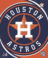 2012 Houston Astros Team Logo Fine Art Print