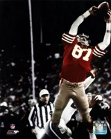 Dwight Clark The Catch 1981 NFC Championship Game Fine Art Print