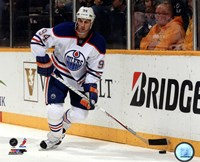 Ryan Smyth 2012-13 Action Fine Art Print