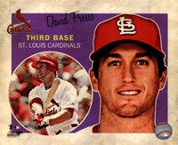 "David Freese 2013 Studio Plus - 10"" x 8"""