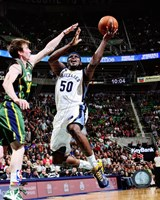 Zach Randolph 2012-13 on the court Fine Art Print