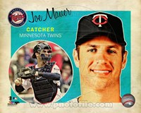 Joe Mauer 2013 Studio Plus Fine Art Print