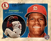 Bob Gibson 2013 Studio Plus Framed Print