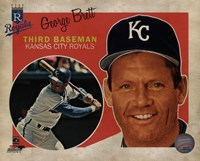 George Brett 2013 Studio Plus Fine Art Print