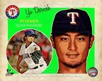 Yu Darvish 2013 Studio Plus Fine Art Print