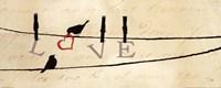 """Bird at Heart II by Pela - 20"""" x 8"""""""