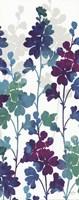 "Mallow Blue Panel II by Mary Jones Mosse Designs - 8"" x 20"""