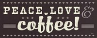"Coffee Lovers IV by Pela Studio - 20"" x 8"""
