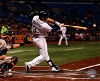 Evan Longoria 2013 Action Fine Art Print