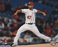 Gio Gonzalez 2013 in Action Fine Art Print
