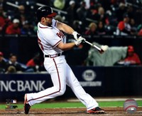Dan Uggla 2013 Action Fine Art Print