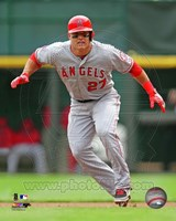 Mike Trout 2013 Action Fine Art Print