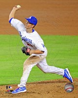 Zack Greinke in Action 2013 Fine Art Print
