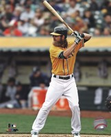 Josh Reddick batting 2013 Fine Art Print