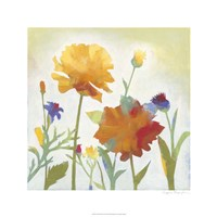 """Chelsea Floral I by Megan Meagher - 24"""" x 24"""""""