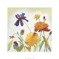 """Chelsea Floral II by Megan Meagher - 24"""" x 24"""""""