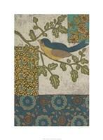 "Avian Ornament II by Chariklia Zarris - 22"" x 30"" - $49.99"