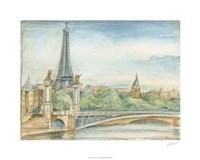 """Parisian View by Ethan Harper - 30"""" x 24"""""""