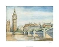 "London View by Ethan Harper - 30"" x 24"""