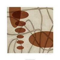 "Earthen Ovals I by Jennifer Goldberger - 26"" x 26"""
