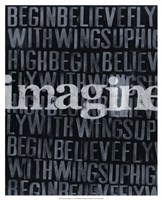 Dream, Imagine... II Fine Art Print