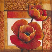 Poppy Pattern I by Timothy O'Toole - various sizes