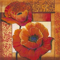 Poppy Pattern II by Timothy O'Toole - various sizes