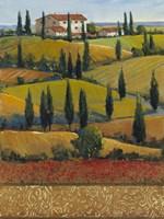 Hilltop Villa II Fine Art Print