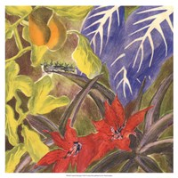 Tropical Monotype I Fine Art Print