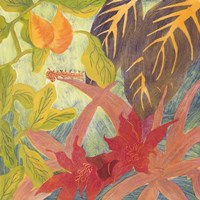 Tropical Monotype IV Fine Art Print