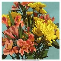 Vibrant Bouquet I Fine Art Print
