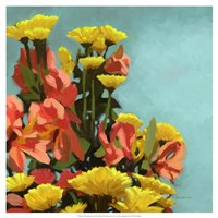 Vibrant Bouquet II Fine Art Print