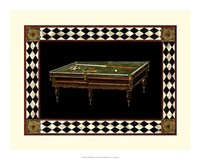 "Let's Play Billiards I by Vision Studio - 19"" x 15"""
